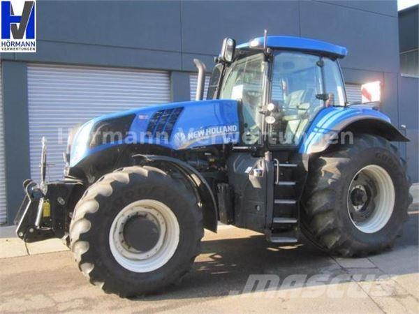 NEW HOLLAND T8.360 UltraCommand, 50km/h