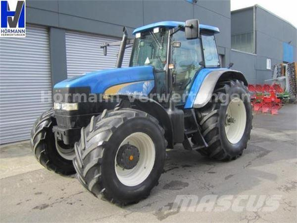NEW HOLLAND TM190, 40 km/h, Deutsche Maschine