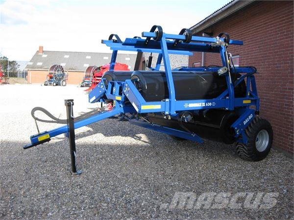 Dal-Bo Minimax XL 630 m. lamelplanke GREENLINE STÅLTROMLE
