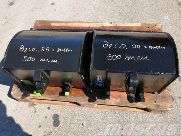 Beco 50 cm. RA graveskovle (2 stk. på lager)