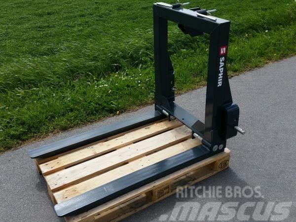 Saphir Pallegafler, 1500 kg.