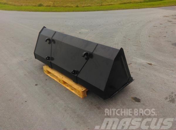 Universal Frontlæsser skovle 2,4 mtr, 0,63 m3
