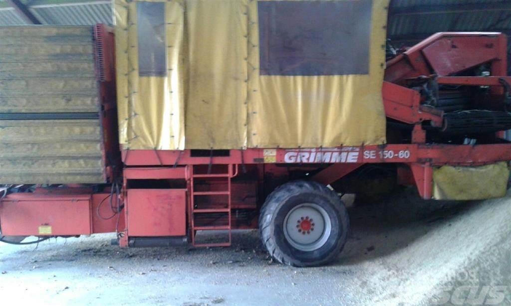 Grimme SE 150-60 med hjultræk UB