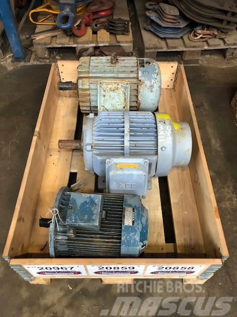 ABB 11 kW ABB E-motor Type QU160M4AK