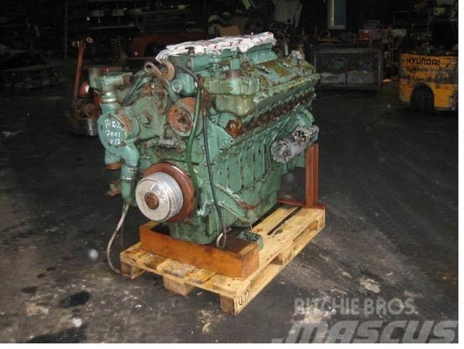 Detroit GM 12V-71 motor - kun til reservedele