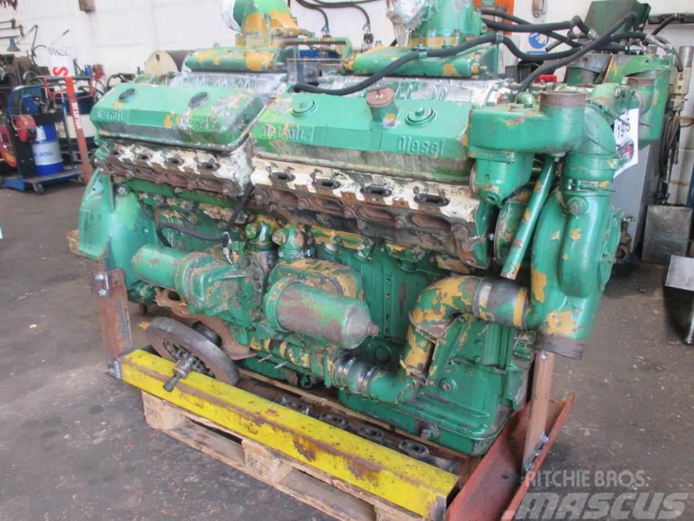 Detroit V16-71 motor - til reservedele