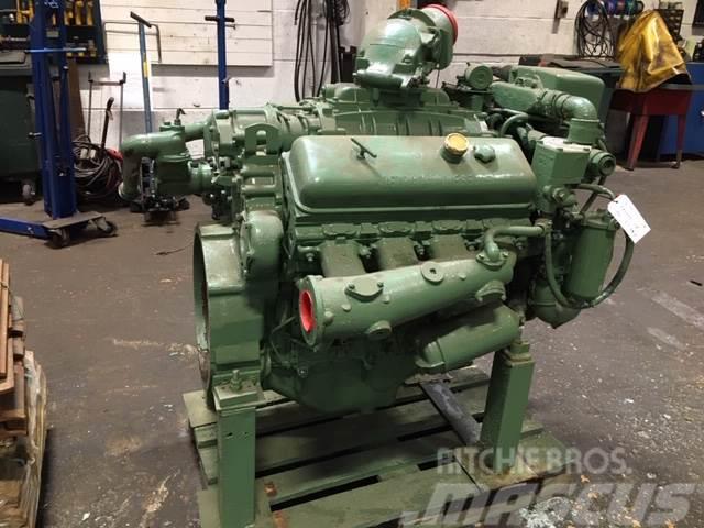 Detroit V8-71 marine motor