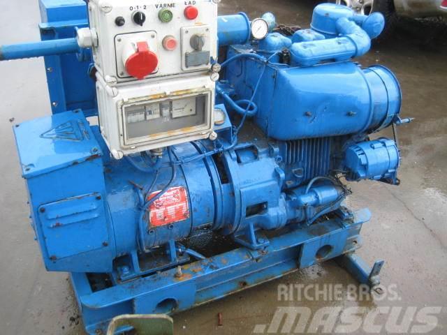 Deutz 7,5 kva DAE generator med Deutz F2L 511 motor