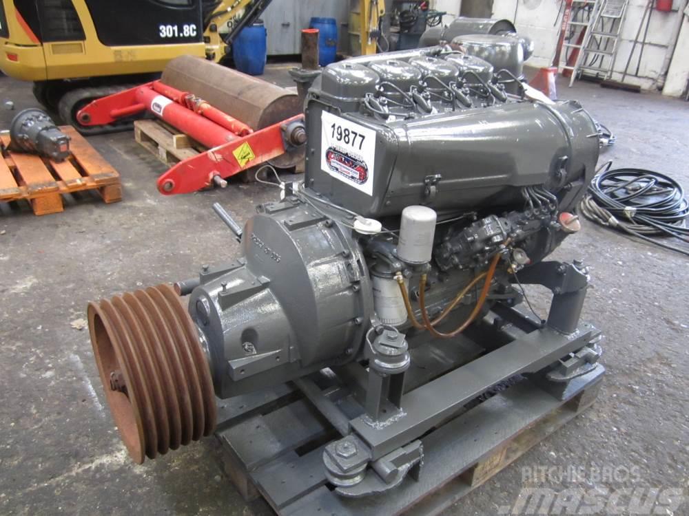 Deutz F4L 912 motor med PTO