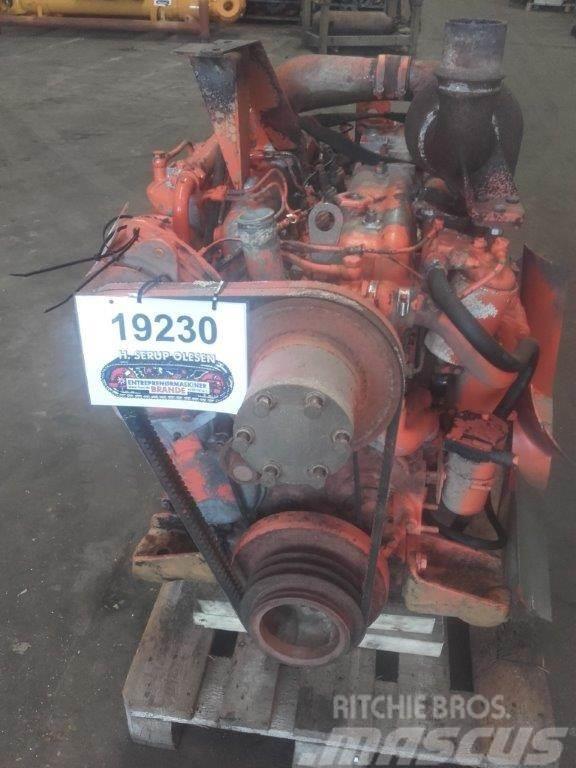 Fiat 8363.20 motor - kun til dele