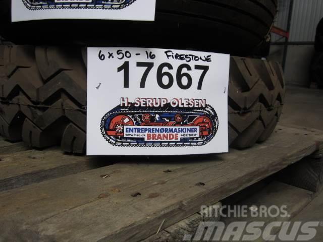 Firestone 6x50-16 Firestone dæk - 1 stk.