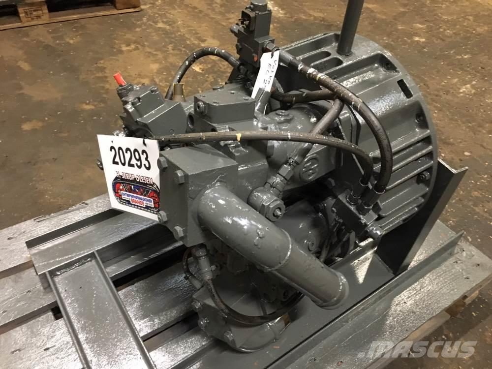 Funk gear med 3 stk. hydr. pumper ex. Volvo EC230B