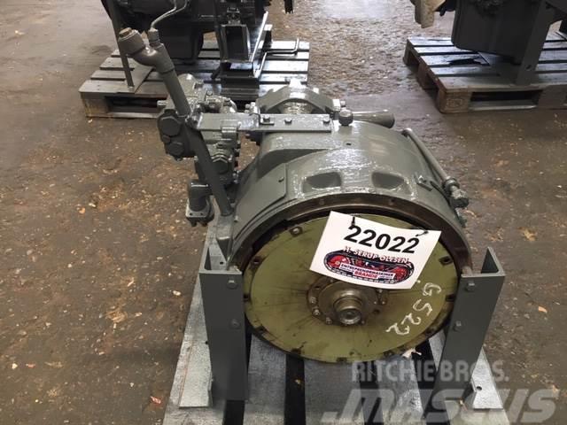 Hanomag Converter Hanomag Type G522 med hydr. pumper, komp