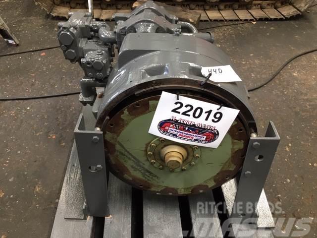 Hanomag Converter med hydr. pumper, komplet ex. Hanomag 44