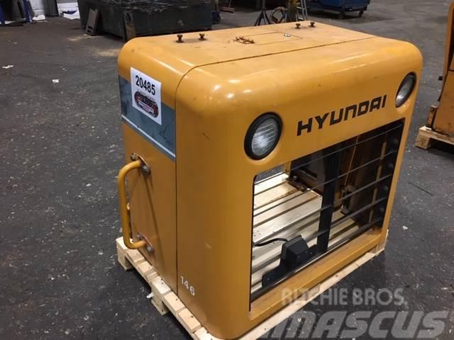 Hyundai Kølecover, komplet ex. Hyundai HL760-3