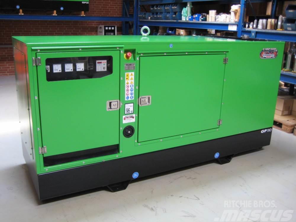 John Deere 100 kva John Deere GP110 S/J-N generatorsæt