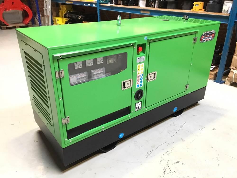 John Deere 30 kva John Deere GP33 S/J-N generatorsæt