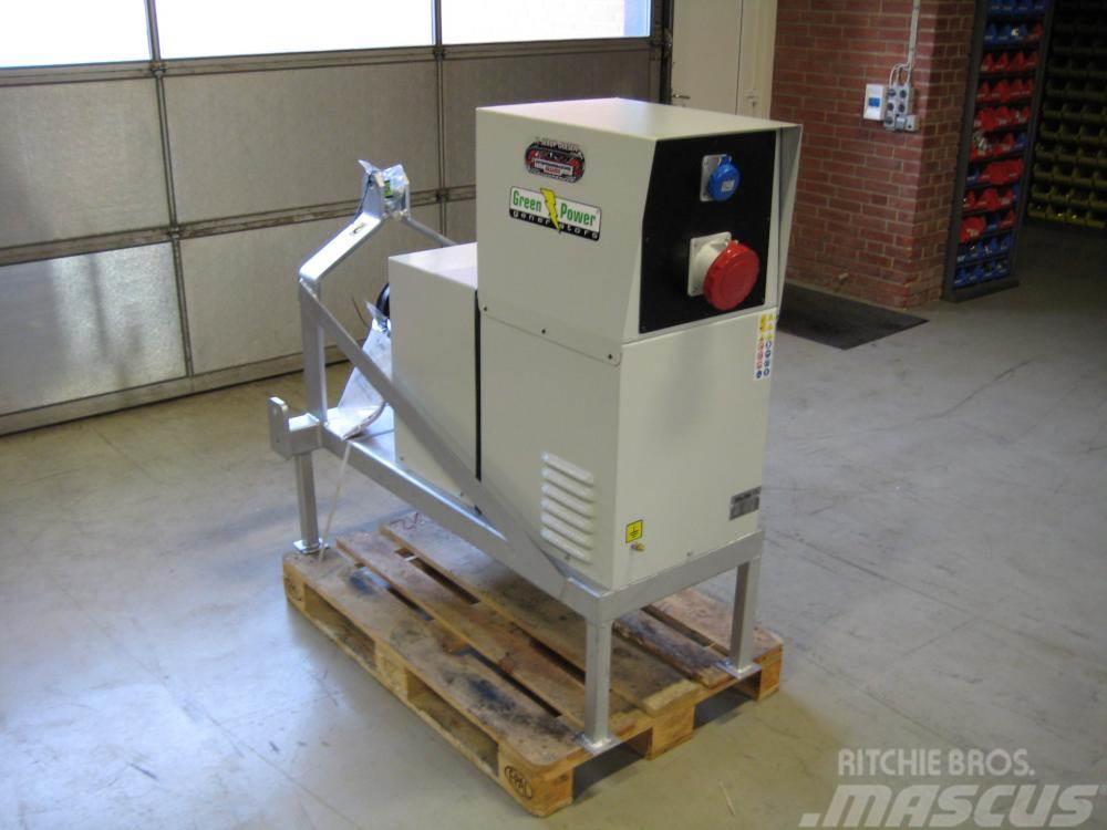 John Deere 50 kva Green Power GP55 TR/S generator - med PTO