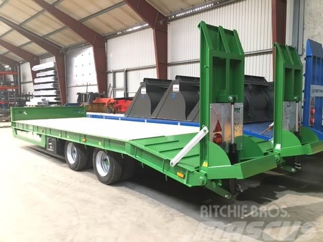 JPM 2-aks trailer - 19 ton total