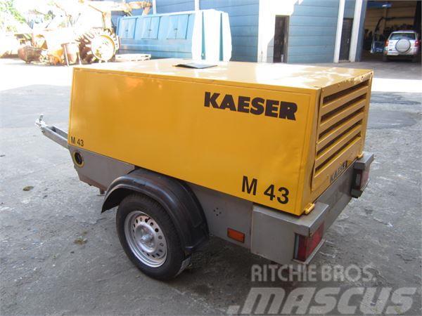 Kaeser M43 S/A kompressor