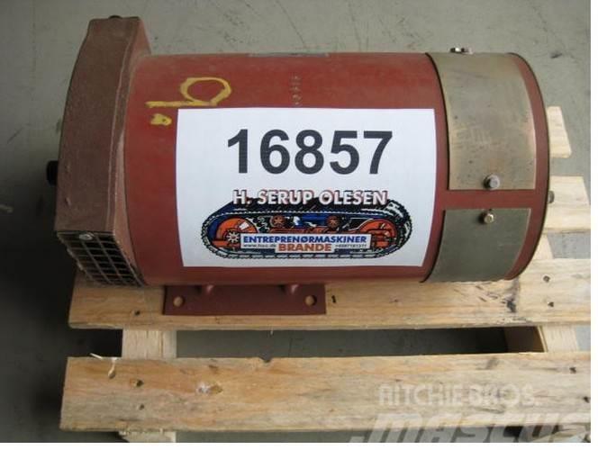 Leroy Somer 7,5 kva Leroy-Somer Type TAC 283 - ubrugt