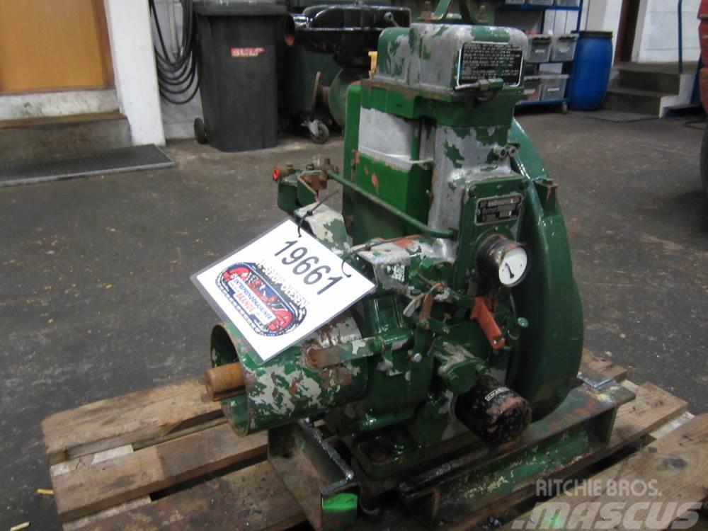 Lister 1 cyl. diesel motor