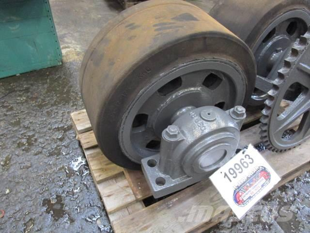 Mafi hjul - Fastgumihjul