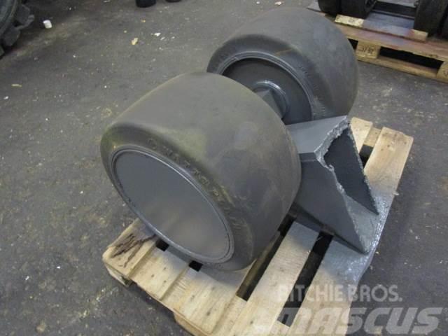 Mafi hjul - Fastgummihjul fabr. Watts Plain 22x12x16