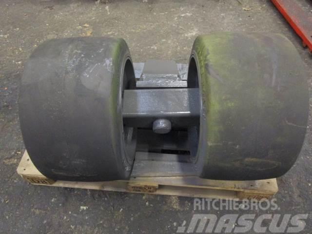 Mafi Hjul - Fastgummihjul fabr. Watts Plan 22x12x16