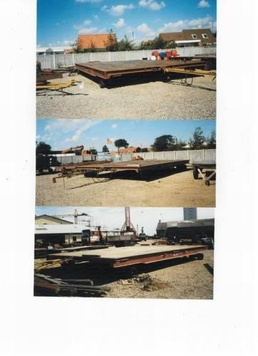 Mafi trailer type 1170-4 - 36 ton - brugt