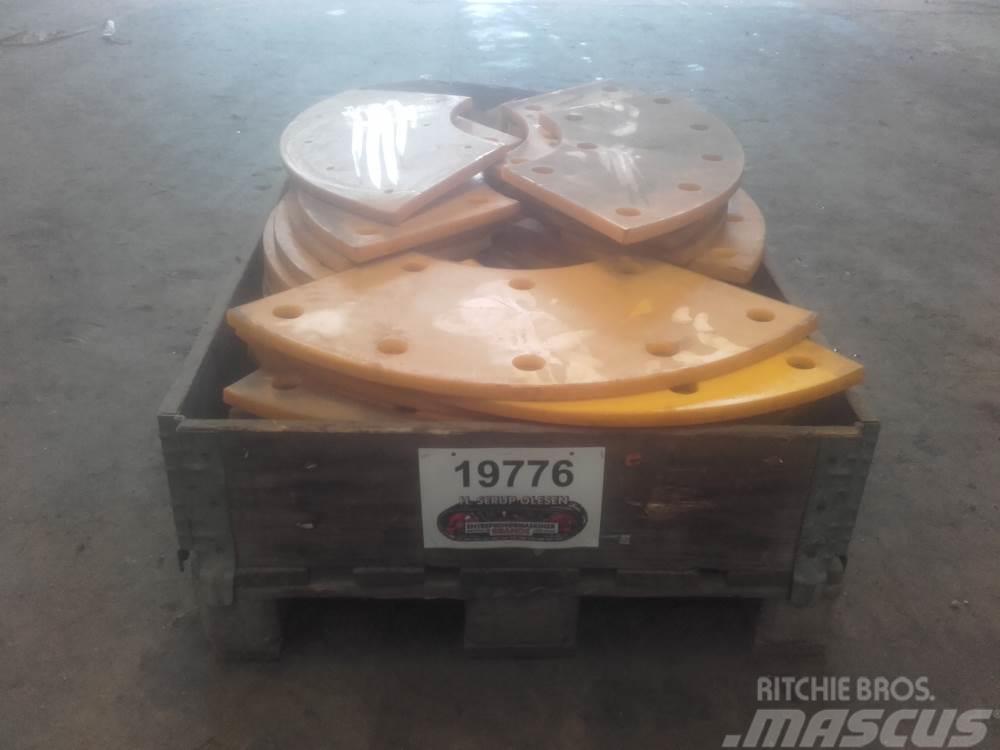 Metso Plast Slidplader Ex. Metso SS10075 Sandsnegl