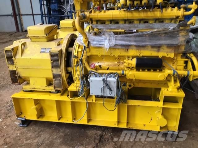 MWM 200 kva MWM G234 V12 gasmotor med BBC generator,