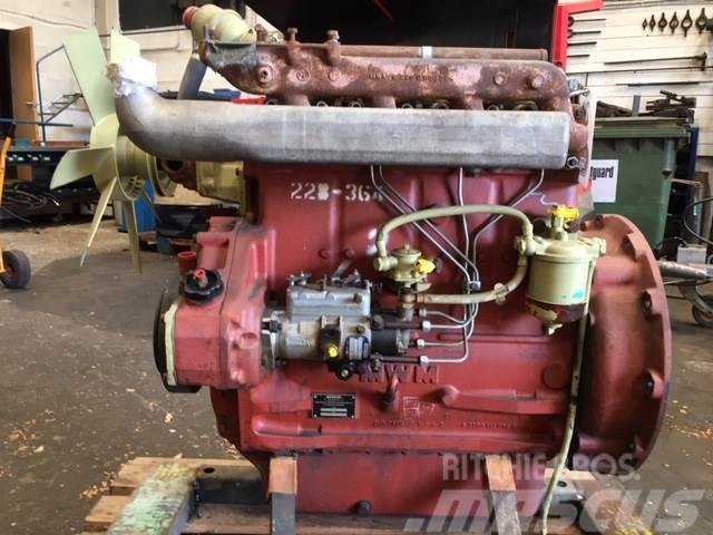 MWM TD226-4 R183 4 cyl. motor