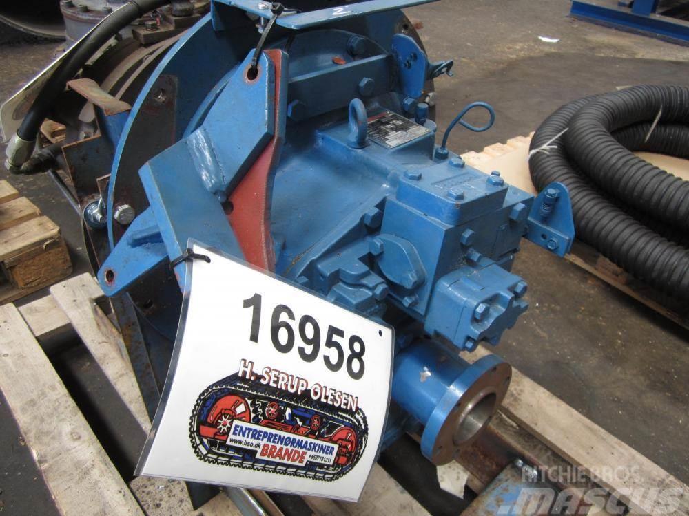 Nico MGN16BL-5 hydr. marinegear