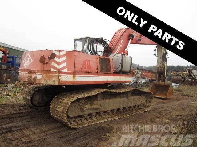 O&K RH9 gravemaskine til ophug