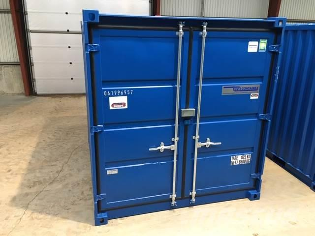 [Other] 10 ft container med galvaniseret CTX lock box