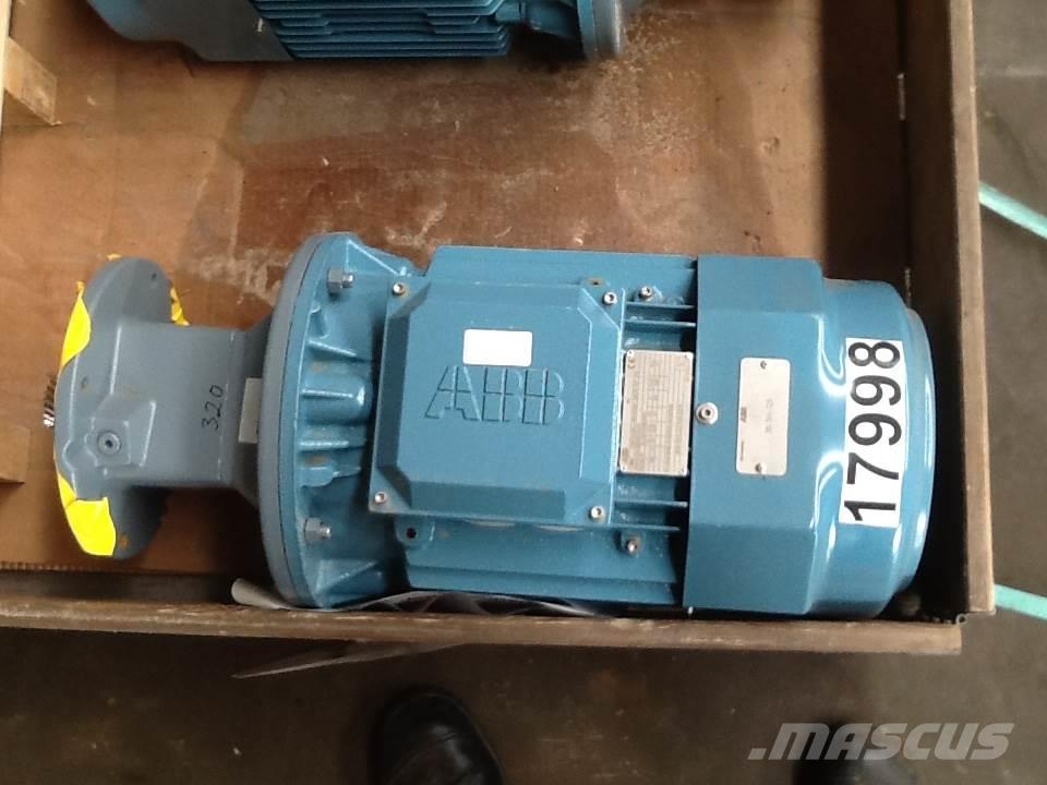 Used 5 5 kw abb type m3bp 132smb4 e motor engines for sale for Abb m3bp motor catalogue
