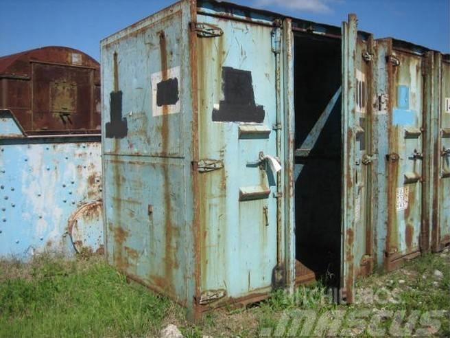 [Other] Container med stålbund - 8 ft. - brugte - 3 stk.