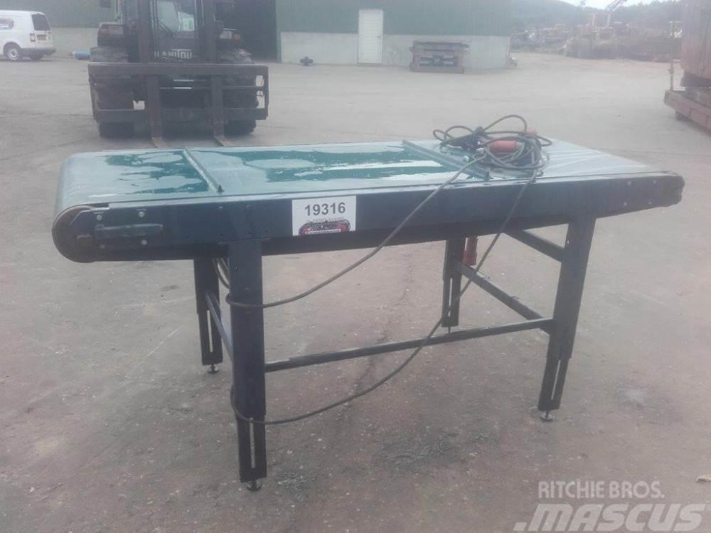 [Other] Fladtransportør, elektrisk - 2300 x 800 mm
