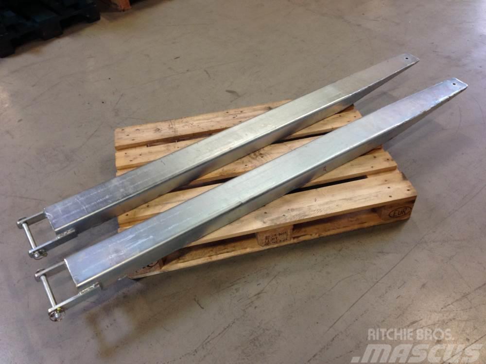 [Other] Gaffelsæt/forks Gaffelforlængersæt 200cm. 5 ton
