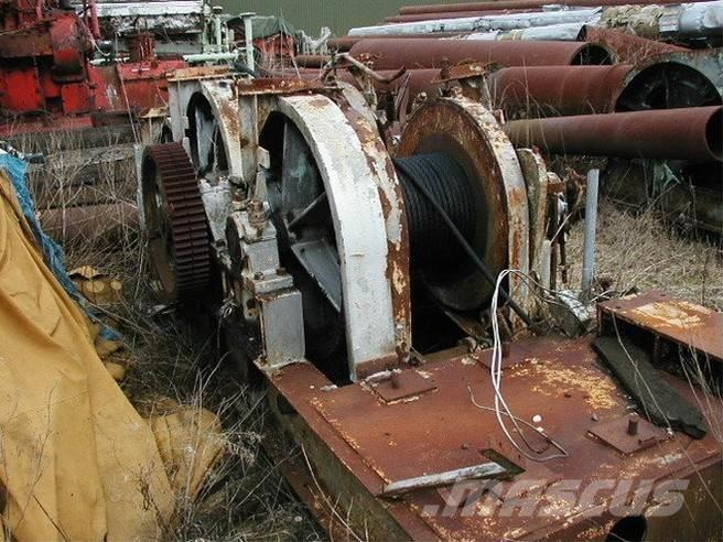 [Other] Piloteringsspil/piling winch Piloteringsspil 3 tro