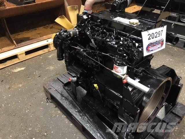 Perkins Type AA50271 motor, komplet ex. Fejemaskine