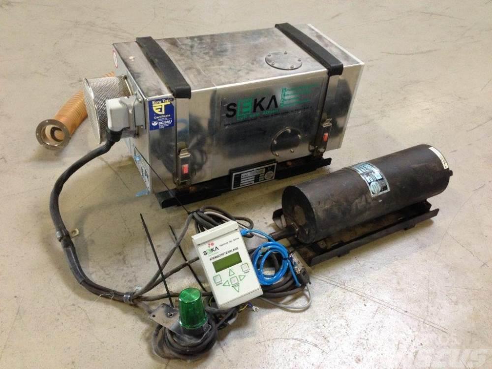 Seka SBA80 kul-/kabinefilter, komplet