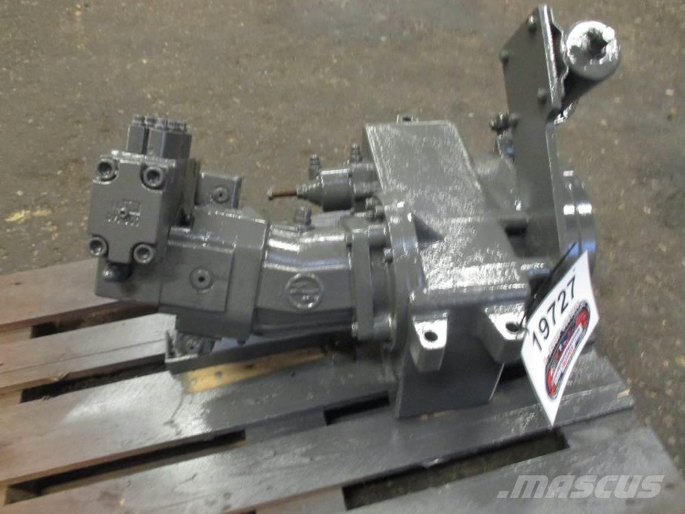 Solmec Mellemgearkasse med hydr. motor ex. Solmec 108