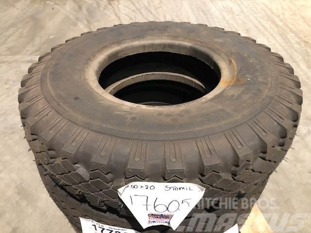 Stomil 10.00x18 Stomil dæk - 3 stk.
