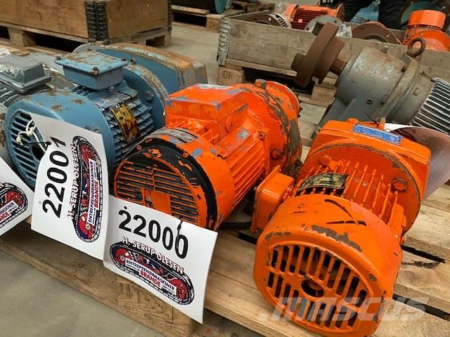 Thrige 1,1 kW Thrige Titan Gearmotor