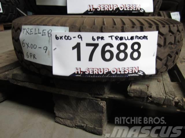 Trelleborg 6.00-9 Trelleborg dæk - 1 stk.