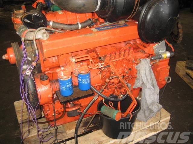 Valmet 612 DS BMG,- 6 cyl. motor til reservedele.