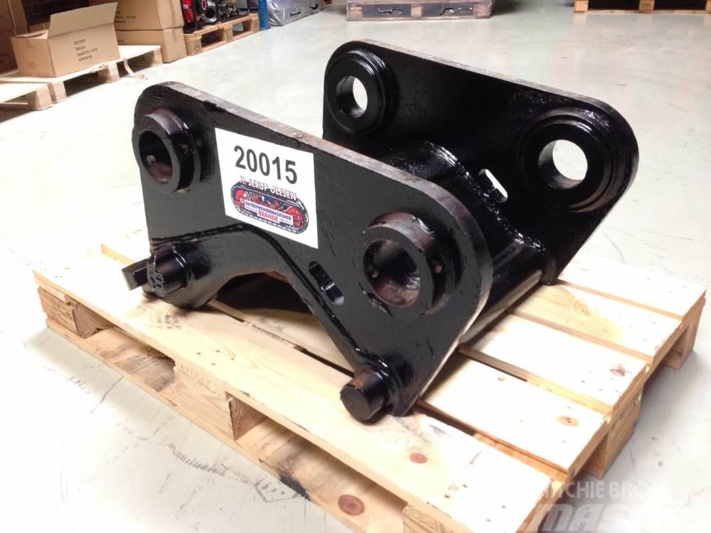 Verachtert CW40 hydraulisk hurtigskift