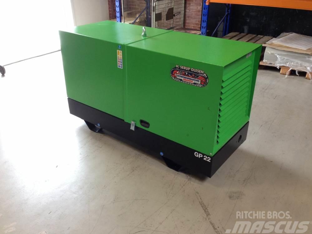 Yanmar 20 kva Yanmar GP22 SH/YW-C generatorsæt
